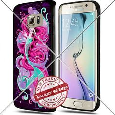 Samsung Galaxy S6 Edge Princess Ariel Art Cool Cell Phone Case Shock-Absorbing TPU Cases Durable Bumper Cover Frame Black Lucky_case26 http://www.amazon.com/dp/B018KORF5A/ref=cm_sw_r_pi_dp_eC8vwb0NCEMJE