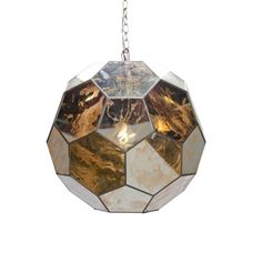 Mirrored Small Ball Pendant