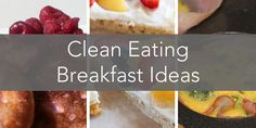 Delicious simple clean breakfast recipe ideas that will leave you feeling full. Easy to make nutritious ideas that you can even make on a budget. Clean Eating Breakfast, Clean Eating Diet, Best Breakfast, Breakfast Ideas, Healthy Eating, Delicious Breakfast Recipes, Good Healthy Recipes, Clean Eating Recipes, Healthy Meals