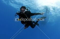 Diver by Greg Amptman - Stock Photo