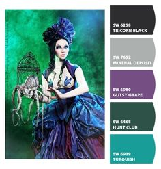 color palette - steampunk