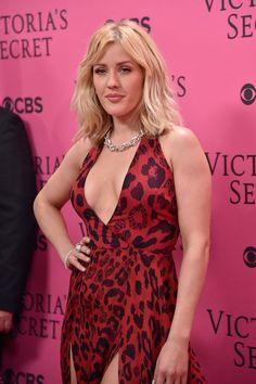 Pin for Later: Victoria's Secret a Organisé L'afterparty la Plus Sexy de L'année Ellie Goulding