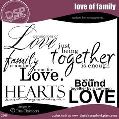 Variety of Family Quotes