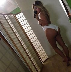 Kim Kardashian posted a new photo of herself showing off her post baby body to Instagram on Thursday.