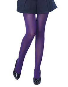 Opaque Purple Tights #Faballey
