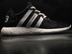 039e5fe8b Fashion Men Adidas Y-3 Yohji Run Core Black White S82118 Kevin Durant Shoes