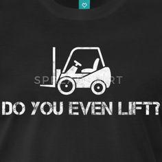Truckfører / truck / Har du selv løfter? - Premium T-skjorte for menn