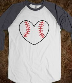 love these! too bad it doesnt say that my heart belongs to a baseball player!
