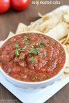 Easy Roasted Salsa from Yummy Healthy Easy on iheartnaptime.com
