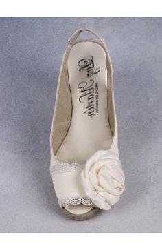 Alpargata novia y bodas modelo mirabel