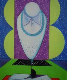 """PASQUALE VINCIGUERRA """"Nature morte nel tempo immaginario"""" - painting - oil on canvas"""