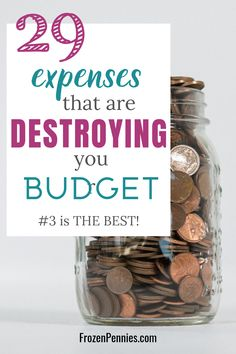 These things might be making it tough staying on budget. Check out these money hacks to conquer budget living and other ways to save money. Money Saving Challenge, Money Saving Tips, Money Hacks, Money Tips, Save Money On Groceries, Ways To Save Money, Budgeting Finances, Budgeting Tips, Living On A Budget