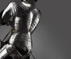 Detail from equestrian armour, Possibly, Ulrich Rämbs, Armourer