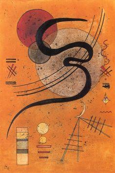 The Athenaeum - Mood Line (Wassily Kandinsky - )