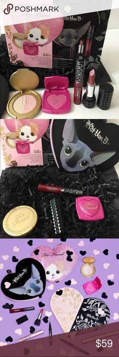 💕💕Kat  Von D new launch sold out makeup bag set Better together limited edition KVD set BNIB make offer with button .sold out in all my sephoras Kat Von D Makeup
