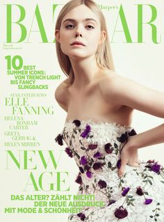 Elle Fanning for Harper's Bazaar Germany - May 2018