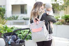 Oh Joy Diaper Backpack. Cute Diaper Bags, Best Diaper Bag, Diaper Backpack, Diaper Bag Backpack, Diaper Bag Brands, Baby Vans, Stroller Bag, Baby Must Haves, Girl Backpacks