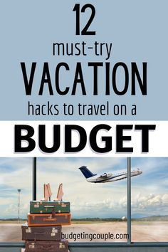 Want to vacation on a budget? Check out these 12 travel savings hacks to make your next trip feel luxurious while saving money. Budgeting Couple | Budgeting Couple Blog | BudgetingCouple.com Ways To Save Money, Money Saving Tips, Vacation List, Free Vacations, Go To Settings, Financial Success, Frugal Living, Earn Money, Free Money