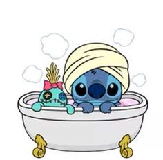 Bathtime Stitch