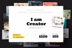 Did you know that we were the first ones to release mockups in three angles – top view, frontal view and perspective? Thanks to that you can now create different product scenarios and get 3 mockups for the price of one. Magic, isn't it? Learn more and download: https://lstore.graphics/iamcreator_trilogy #lstore #lstore_mockup #lstore_trilogy #psd #design #scenegenerator #mockup #ruslanlatypov #graphicdesign #branding #mockup #graphic #designgoogies #photoshop