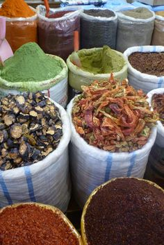 Urfa, Turkey   Spice Markets