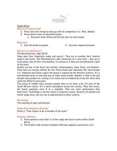 Creative brief writing
