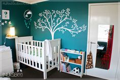 Modern Baby section offers the finest in contemporary baby furniture and accesso. - Modern Baby section offers the finest in contemporary baby furniture and accessories - Teal Nursery, Nursery Room, Nursery Decor, Unisex Nursery Themes, Nursery Ideas, Playroom Ideas, Bedroom Ideas, Baby Furniture, White Furniture