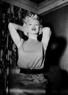 """beauvelvet: """" """"The luckiest thing that ever happened to me was being born a woman. ~ Marilyn Monroe """" """""""