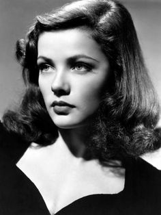 Gene Tierney. Classic beauty, through and through.