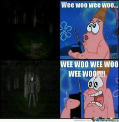 Spongebob and slender