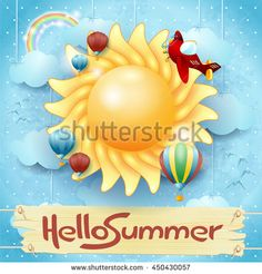 New! :) #summer #holiday #vacation #beach #sea #sun #vector #background  http://www.shutterstock.com/pic.mhtml?id=450430057