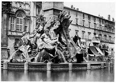 Fontaine du Bernin et base de l'obélisque Place Navone 1854 (ca) Italy Vacation, Italy Travel, Piazza Navona, Modern Art, Places To Visit, City, Painting, Base, Memories