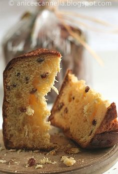 Panettone, my absolutely favorite Christmas treat
