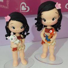Bonequinhas lindas com seus mascotinhos!