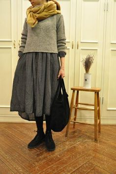 乙女心に秋の空 ・・・ maison de soilの画像:acoustics1F///just love this entire outfit!! - dp
