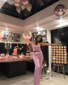 We hope you had the best night celebrating at your pyjama party! It looked absolutely perfect and we cant Hotel Sleepover Party, Adult Slumber Party, Slumber Party Birthday, Sleepover Birthday Parties, Girl Sleepover, Hotel Party, Happy Birthday, 21st Birthday Ideas For Girls Turning 21, Bachelorette Slumber Parties