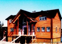 Start building your dream from nature. Located in British Columbia, Canada, Lake Country Log Homes your premier Log and Timber Frame home developer. Home Developers, Log Siding, Timber Frame Homes, Western Red Cedar, Douglas Fir, Railings, Log Homes, Cabins, Stairs