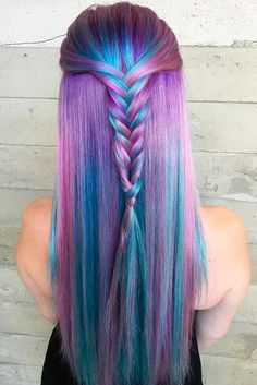 Try 18 Geode Hair Color Styles And#8211; New Trend in the World of Dyeing ★ See more: http://lovehairstyles.com/try-geode-hair-color-styles-new-trend-world-dyeing/