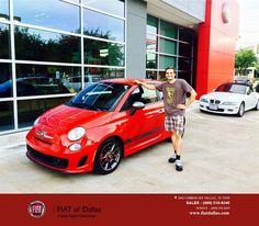 https://flic.kr/p/J1WmHL   Congratulations Aven on your #FIAT #500 from Farzin Rejaie at FIAT of Dallas!   deliverymaxx.com/DealerReviews.aspx?DealerCode=F741
