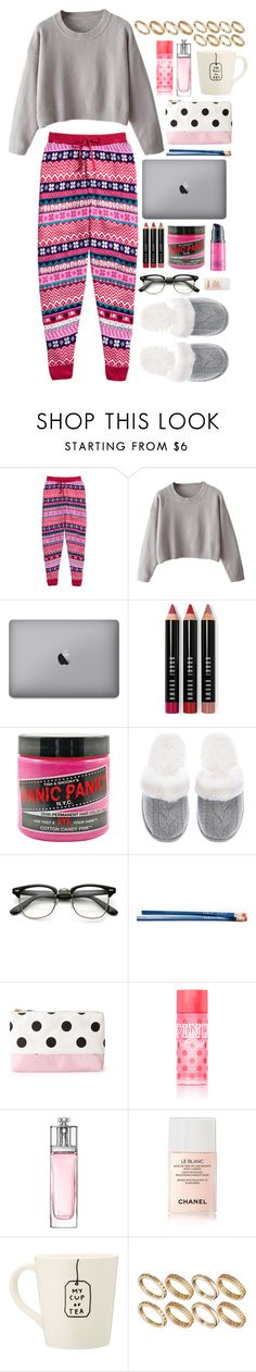 """""""Keep Calm and Carry On (Even Though Finals are Impending and your Doom is sealed!)"""" by sverdesca ❤ liked on Polyvore featuring H&M, Bobbi Brown Cosmetics, Manic Panic NYC, Victoria's Secret, Forever 21, Christian Dior, Chanel and ASOS"""