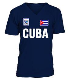 CUBA T-shirt Cuban Flag Tee Retro Soccer Jersey Style  #tshirts #tshirtsfashion #tshirt #tshirtdesign #tshirtprinting