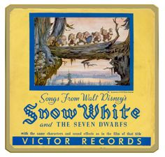 Original LP from Snow White and the Seven Dwarfs.