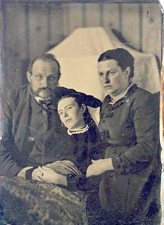 Due to the exposure time required for some photographs, the living would move slightly and appear blurred in the photograph, while the unmoving deceased would be crystal-clear.
