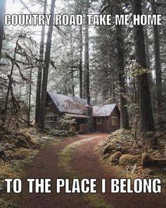 take me home...