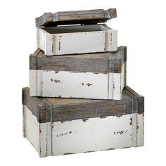 Alder Boxes, Set of 3