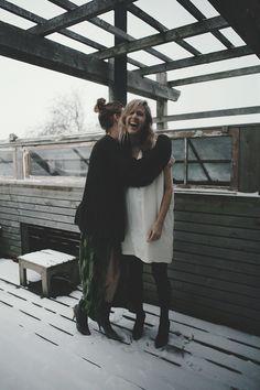 claudia dey & heidi sopinka :: hug