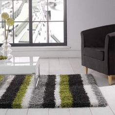 Nordic Channel Lime Green Steel Large Rugs From Rug Direct