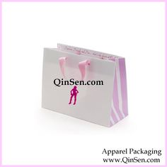 Customized Lingerie Gift Bag.  OEM are welcomed.    www.qinsen.com