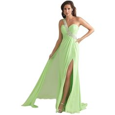 Pre-owned Night Moves Prom Collection Lime Auth New By Allure 6706... ($152) ❤ liked on Polyvore featuring dresses, lime, night moves dresses, green cocktail dress, long green dress, lime green cocktail dress and preowned dresses