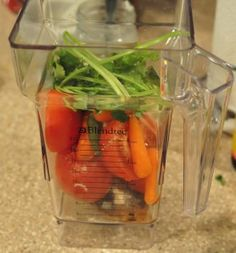 Blendtec Recipes - Tortilla Soup In The Blendtec Blender